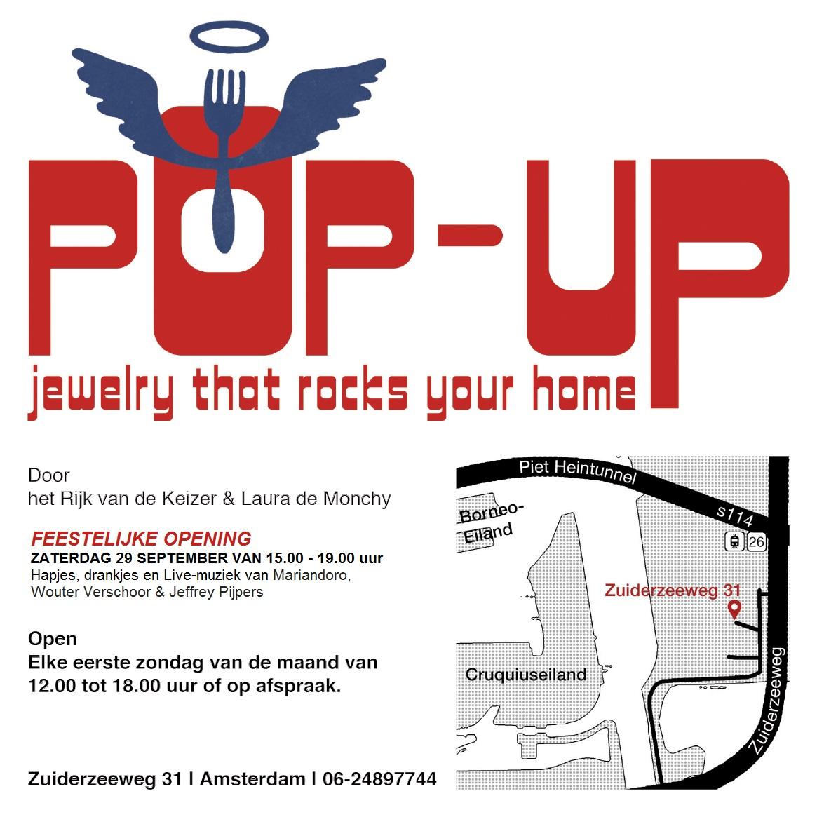 Pop-Up store het Rijk van de Keizer