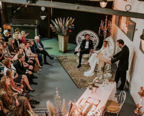 Droomhuwelijk in Amsterdam naar ieders wens